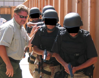 Photo: Tactical Entry Team Stacked